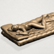 Naked Body Lying on Bed A03.png Download free STL file Naked Girl - Lying on Bed 02 • Object to 3D print, GeorgesNikkei