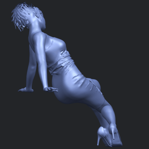 15_TDA0662_Naked_Girl_G10B08.png Download free STL file Naked Girl G10 • 3D printable template, GeorgesNikkei