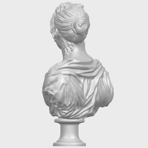 24_TDA0201_Bust_of_a_girl_01A05.png Download free STL file Bust of a girl 01 • Object to 3D print, GeorgesNikkei