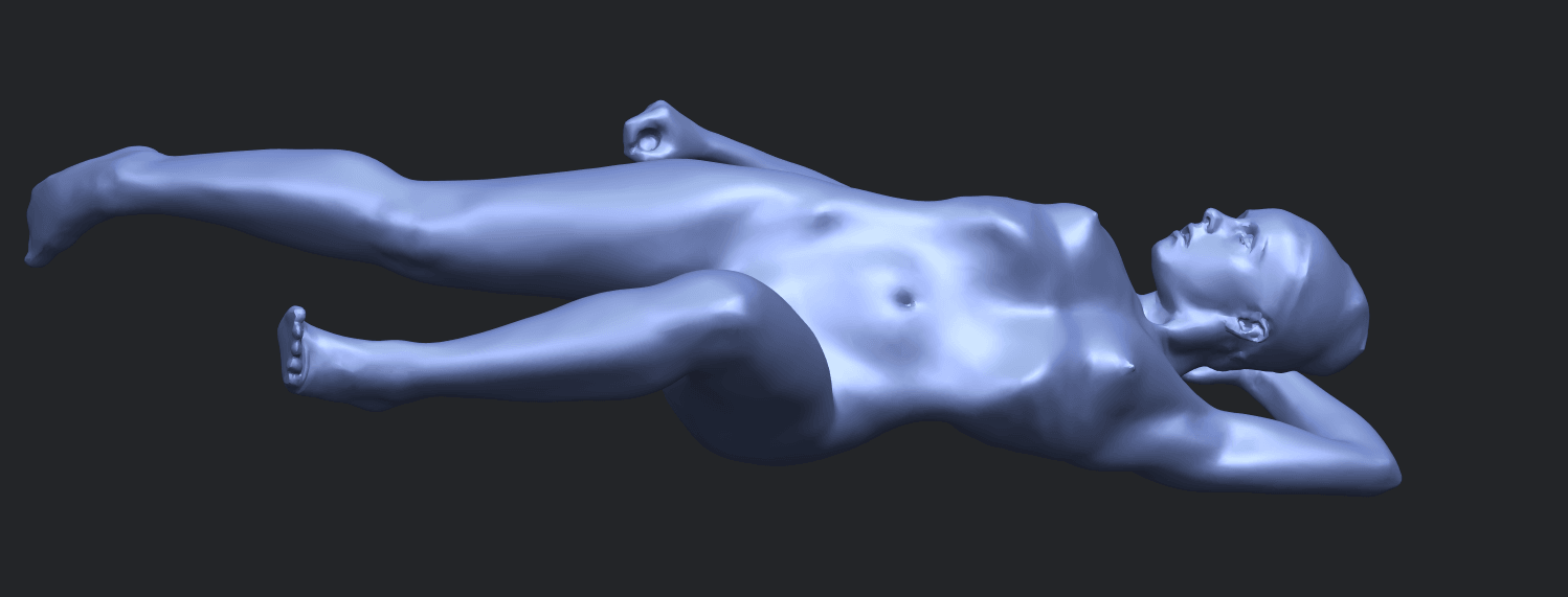 06_TDA0279_Naked_Girl_A06B03.png Download free STL file Naked Girl A06 • 3D printing template, GeorgesNikkei