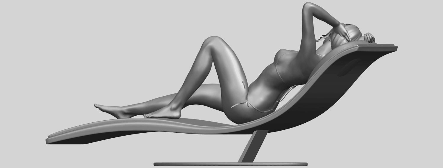 TDA0743_Sexy_Girl_13-Lye_on_ChairA07.png Download free STL file Sexy Girl 13 - Lye on Chair • 3D printer design, GeorgesNikkei