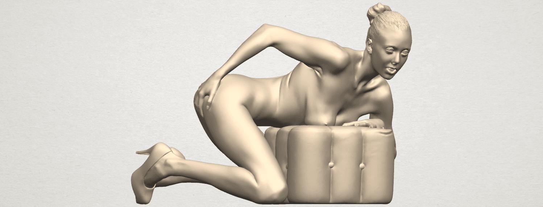 TDA0284 Naked Girl B01 01.png Télécharger fichier STL gratuit Fille nue B01 • Design à imprimer en 3D, GeorgesNikkei