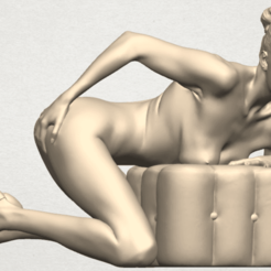 TDA0284 Naked Girl B01 01.png Download free STL file  Naked Girl B01 • 3D print model, GeorgesNikkei