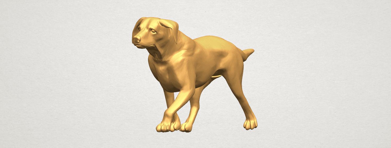 TDA0527 Dog 01 A04.png Download free STL file Dog 01 • 3D printer template, GeorgesNikkei
