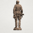 American Soldier A04.png Download free STL file American Soldier • Template to 3D print, GeorgesNikkei