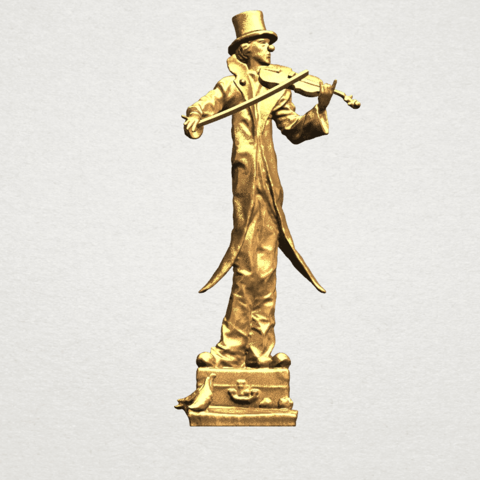 Download free 3D printing designs Play Violin, GeorgesNikkei