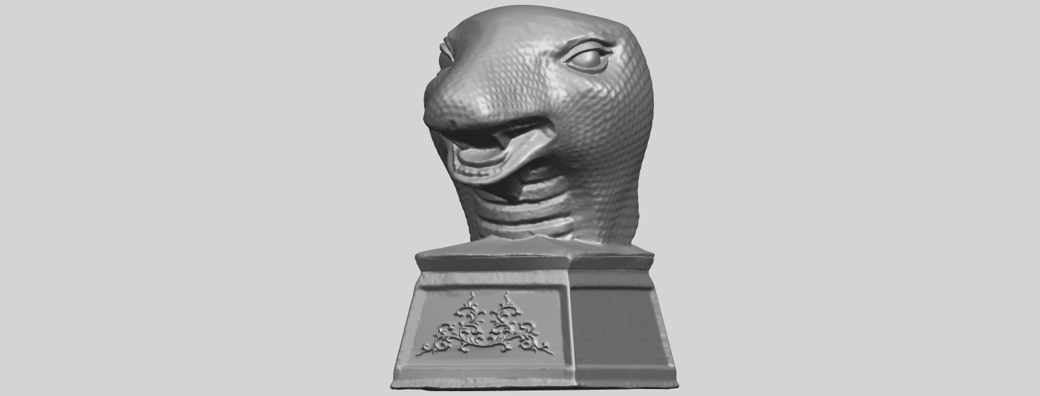 19_TDA0513_Chinese_Horoscope_of_Snake.02A02.png Download free STL file Chinese Horoscope of Snake 02 • 3D printer design, GeorgesNikkei