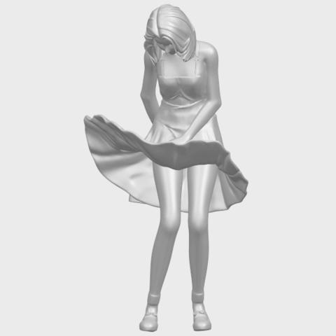 TDA0715_Beautiful_Girl_15A02.png Télécharger fichier STL gratuit Belle Fille 15 ans • Plan pour impression 3D, GeorgesNikkei