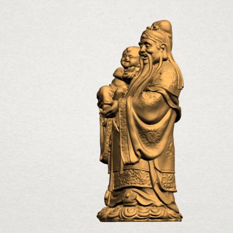 Fook (Fook Look Sao) 80mm - A02.png Download free STL file Fook (Fook Look Sao) • 3D printer template, GeorgesNikkei