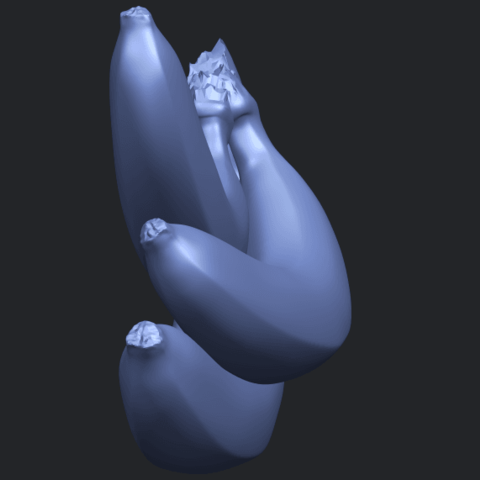 07_TDA0553_BananaB04.png Download free STL file Banana 01 • 3D printer design, GeorgesNikkei