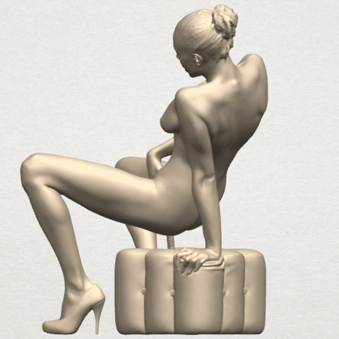 TDA0285 Naked Girl B02 07.png Download free STL file  Naked Girl B02 • 3D printer model, GeorgesNikkei