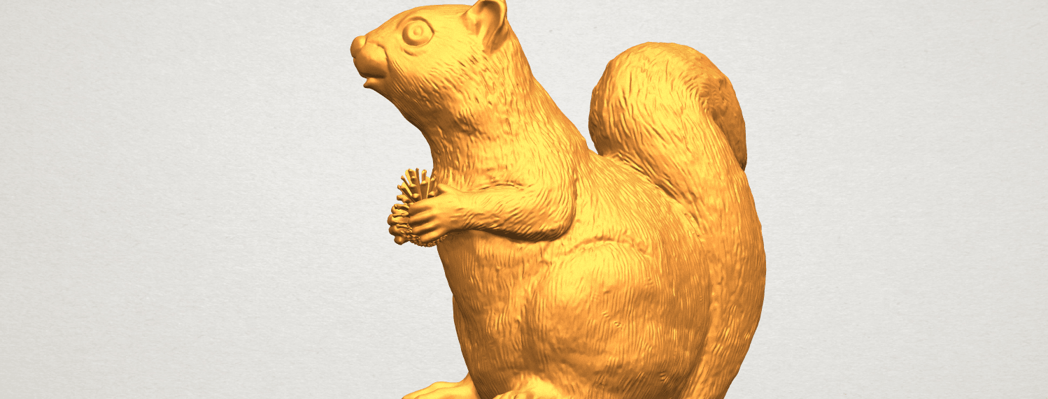 A11.png Download free STL file Squirrel 01 • Model to 3D print, GeorgesNikkei