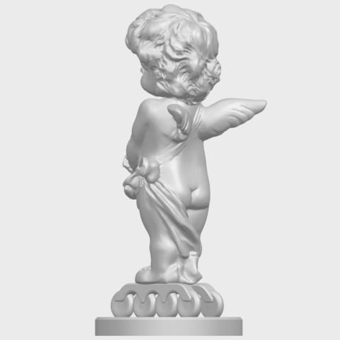 16_TDA0479_Angel_Baby_02A05.png Télécharger fichier STL gratuit Bébé Ange 02 • Plan pour imprimante 3D, GeorgesNikkei