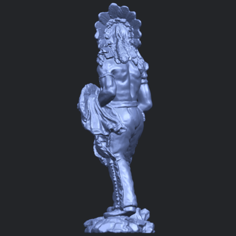 13_TDA0240_Red_IndianB05.png Download free STL file Red Indian • 3D print template, GeorgesNikkei