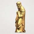 Sculpture of Arabian 88mm - A02.png Download free STL file Sculpture of Arabian • 3D print template, GeorgesNikkei