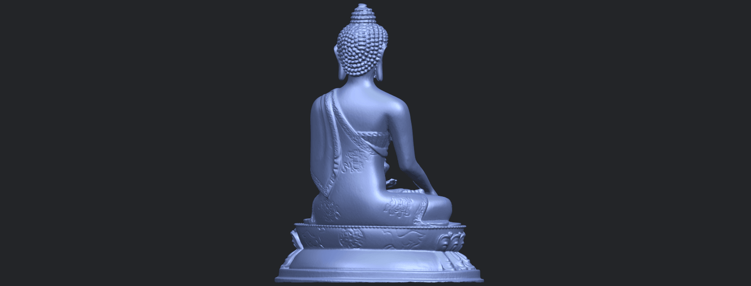 15_TDA0173_Thai_Buddha_(iii)_88mmB07.png Download free STL file Thai Buddha 03 • 3D printing object, GeorgesNikkei