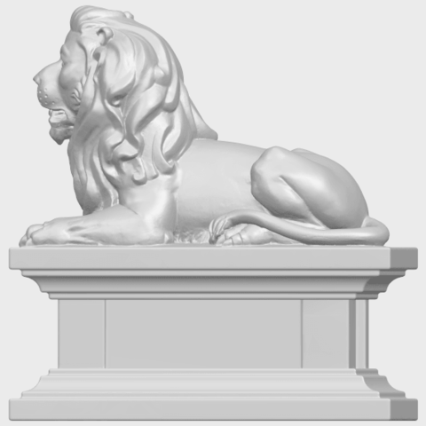 01_TDA0499_Lion_04A04.png Download free STL file Lion 04 • Template to 3D print, GeorgesNikkei