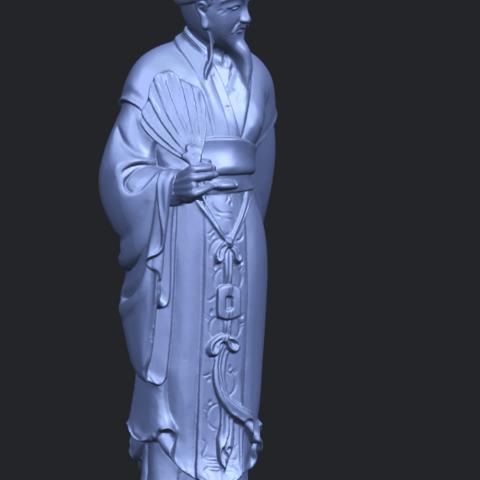 19_TDA0342_Zhu_Ge_Liang_Kong_MingA10.png Télécharger fichier STL gratuit Zhu Ge Liang Kong Ming Kong Ming • Modèle imprimable en 3D, GeorgesNikkei