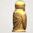 Little Monk 80mm - A04.png Download free STL file Little Monk 01 • 3D printable design, GeorgesNikkei