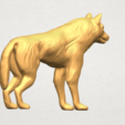 TDA0610 Wolf A05.png Download free STL file Wolf • 3D printable design, GeorgesNikkei