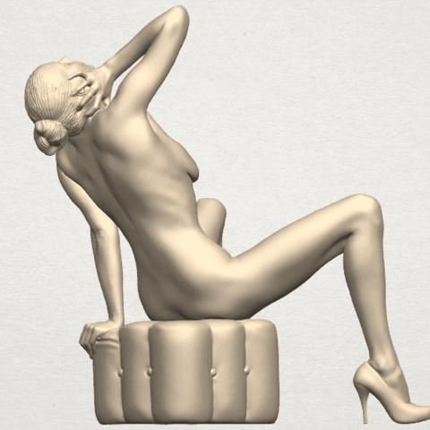 TDA0289 Naked Girl B06 08.png Download free STL file  Naked Girl B06 • 3D print design, GeorgesNikkei