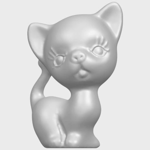 TDA0746_Cat_03A01.png Télécharger fichier STL gratuit Chat 03 • Modèle à imprimer en 3D, GeorgesNikkei