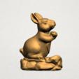 Chinese Horoscope04-A01.png Télécharger fichier STL gratuit Horoscope Chinois 04 Lapin • Design à imprimer en 3D, GeorgesNikkei