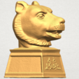 TDA0510 Chinese Horoscope of Tiger 02 A06.png Download free STL file Chinese Horoscope of Tiger 02 • 3D print object, GeorgesNikkei