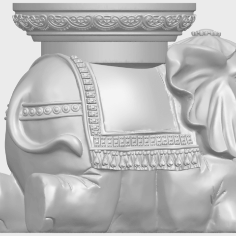 11_TDA0501_Elephant_TableA07.png Download free STL file Elephant Table • 3D printing object, GeorgesNikkei