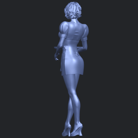 07_TDA0475_Beautiful_Girl_09_WaitressB06.png Download free STL file Beautiful Girl 09 Waitress • 3D printable object, GeorgesNikkei