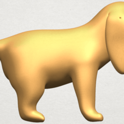 Free 3d printer designs Puppy 01, GeorgesNikkei