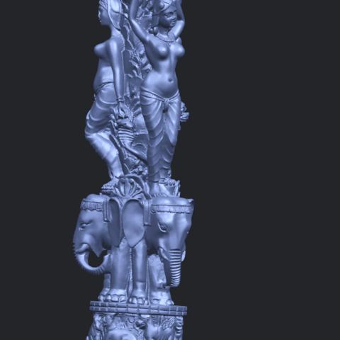 09_Thai_Elephant_Tower_80mm_-_A01A10.png Télécharger fichier STL gratuit Tour de l'éléphant thaïlandais • Modèle pour impression 3D, GeorgesNikkei