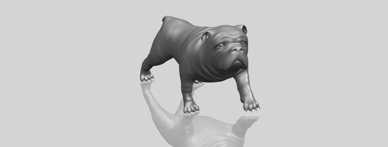 14_TDA0520_Bull_Dog_01A00-1.png Télécharger fichier STL gratuit Chien de taureau 01 • Plan pour impression 3D, GeorgesNikkei