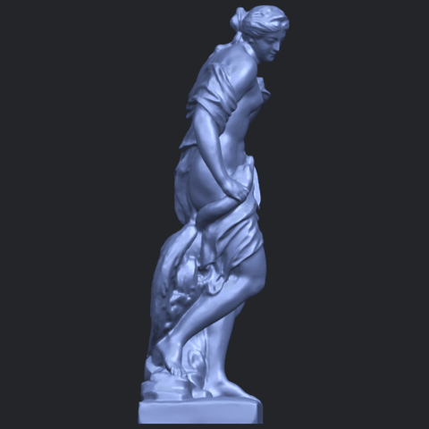 25_TDA0173_Naked_Girl_with_Goose_88mmB09.png Download free STL file Naked Girl with Goose • 3D print template, GeorgesNikkei