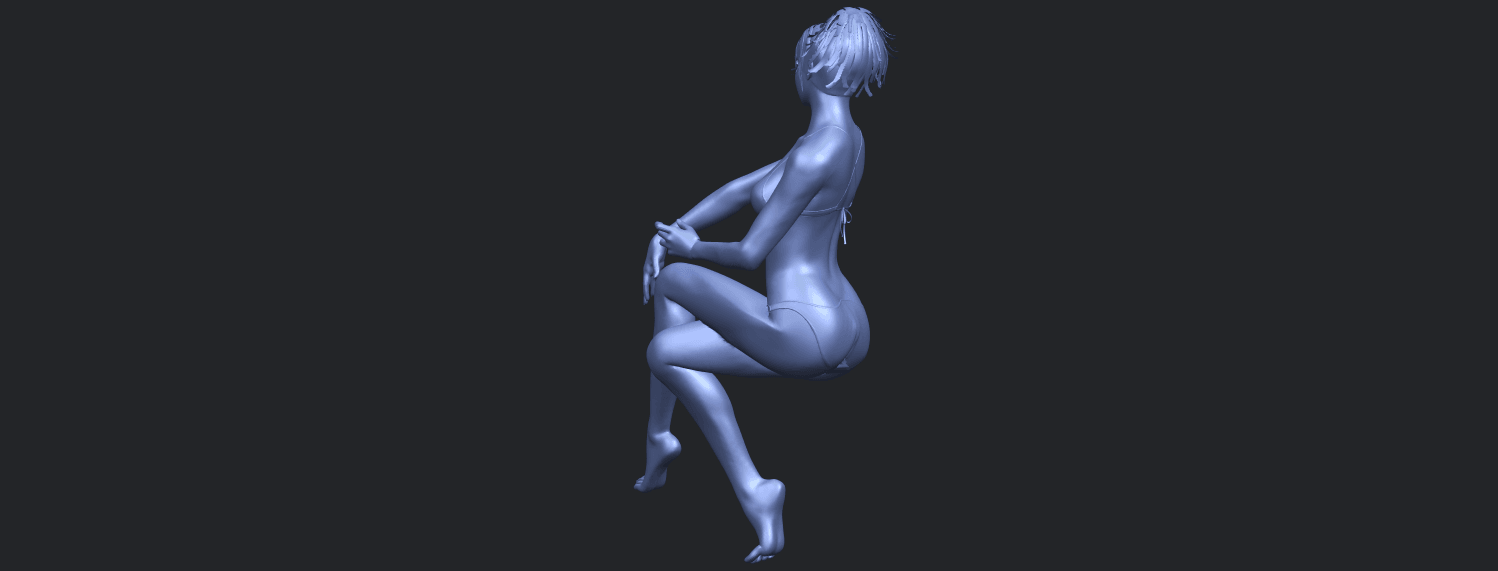 20_TDA0664_Naked_Girl_H02B08.png Download free STL file Naked Girl H02 • 3D print object, GeorgesNikkei