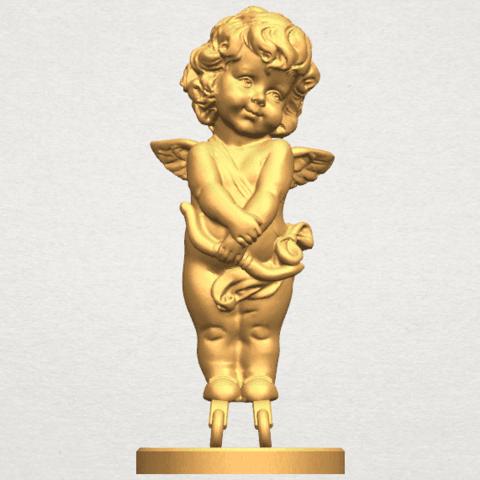 TDA0479 Angel Baby 02 ex800 A01.png Télécharger fichier STL gratuit Bébé Ange 02 • Plan pour imprimante 3D, GeorgesNikkei