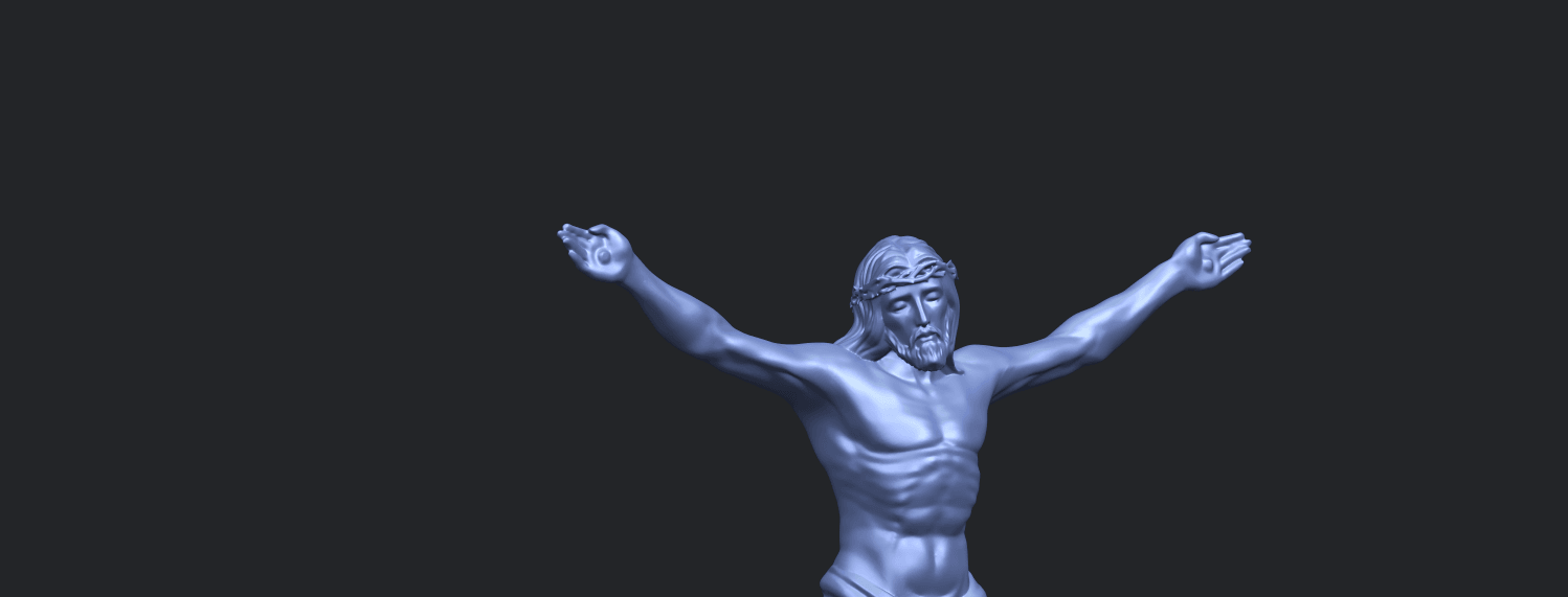 21_TDA0230_Jesus_iA10.png Download free STL file Jesus 01 - top • Object to 3D print, GeorgesNikkei