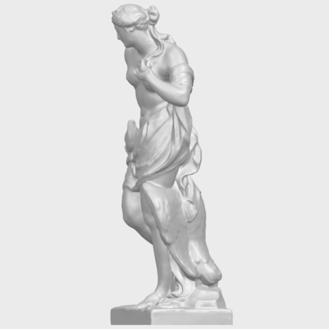 25_TDA0173_Naked_Girl_with_Goose_88mmA03.png Download free STL file Naked Girl with Goose • 3D print template, GeorgesNikkei