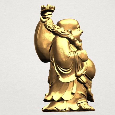 Metteyya Buddha 05 - 88mm - A07.png Télécharger fichier STL gratuit Bouddha Metteyya 05 • Objet imprimable en 3D, GeorgesNikkei