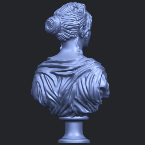 24_TDA0201_Bust_of_a_girl_01B07.png Download free STL file Bust of a girl 01 • Object to 3D print, GeorgesNikkei