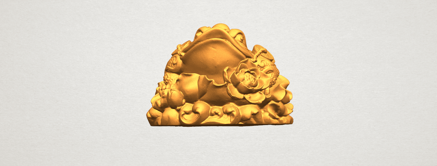 TDA0336 The Golden Toad A06.png Download free STL file The Golden Toad • 3D printer design, GeorgesNikkei