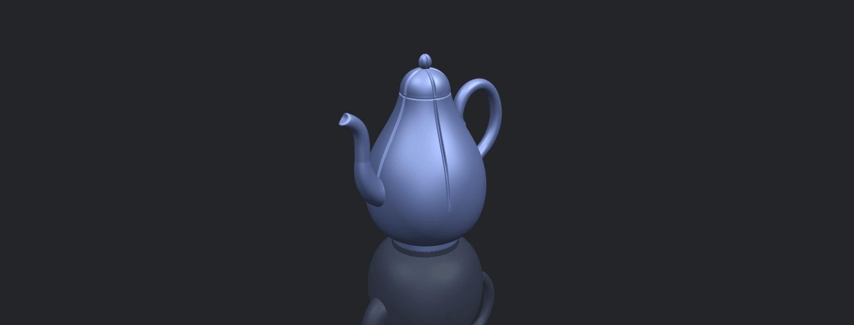 19_TDA0323_Tea_Pot_iiB00-1.png Download free STL file Tea Pot 02 • 3D printer template, GeorgesNikkei