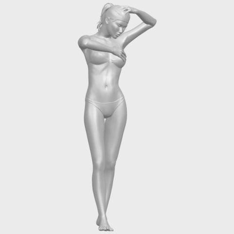 16_TDA0633_Naked_Girl_D03-A01.png Download free STL file Naked Girl D03 • 3D printing template, GeorgesNikkei
