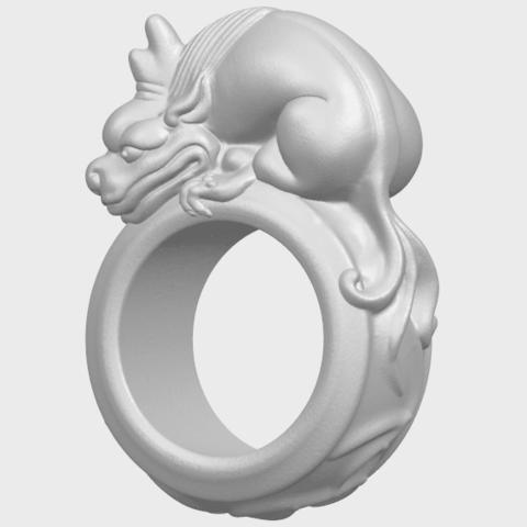 07_TDA0504_Pi_Xiu_RingA02.png Télécharger fichier STL gratuit Bague Pi Xiu Ring • Modèle à imprimer en 3D, GeorgesNikkei