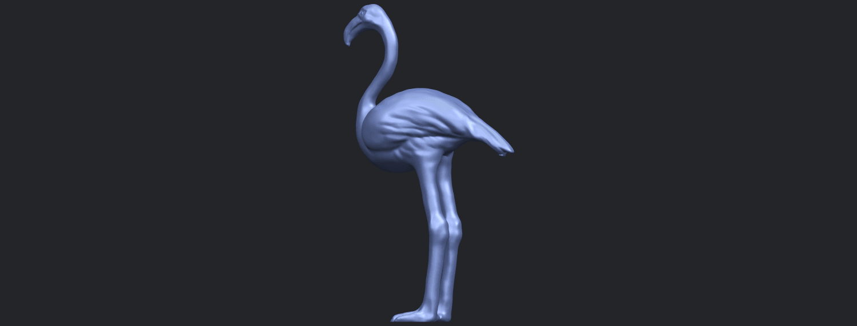 04_TDA0597_Flamingo_01B02.png Download free STL file Flamingo 01 • 3D printing model, GeorgesNikkei