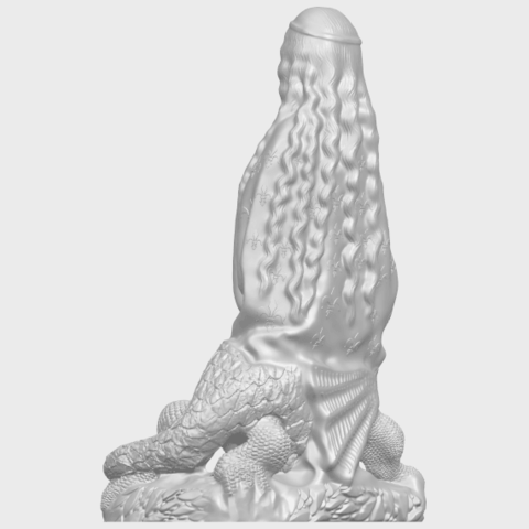 St Margaret 88mmA05.png Download free STL file Saint Margaret  • Template to 3D print, GeorgesNikkei