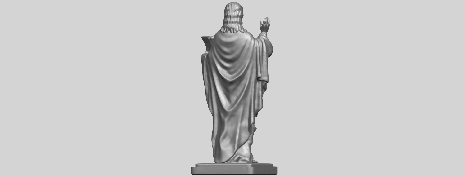 19_TDA0237_Jesus_vA07.png Download free STL file Jesus 05 • 3D print object, GeorgesNikkei