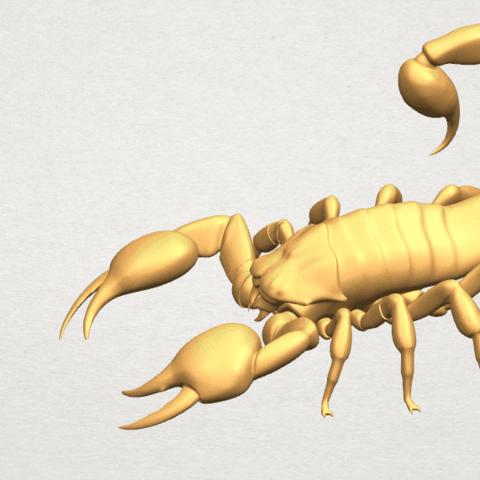 TDA0603 Scorpion A07.png Télécharger fichier STL gratuit Scorpion • Objet pour imprimante 3D, GeorgesNikkei