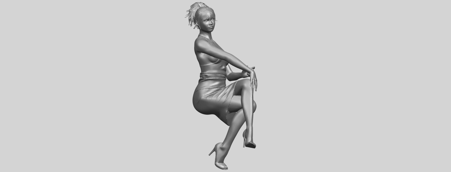 16_TDA0666_Naked_Girl_H04A03.png Download free STL file Naked Girl H04 • 3D printing object, GeorgesNikkei