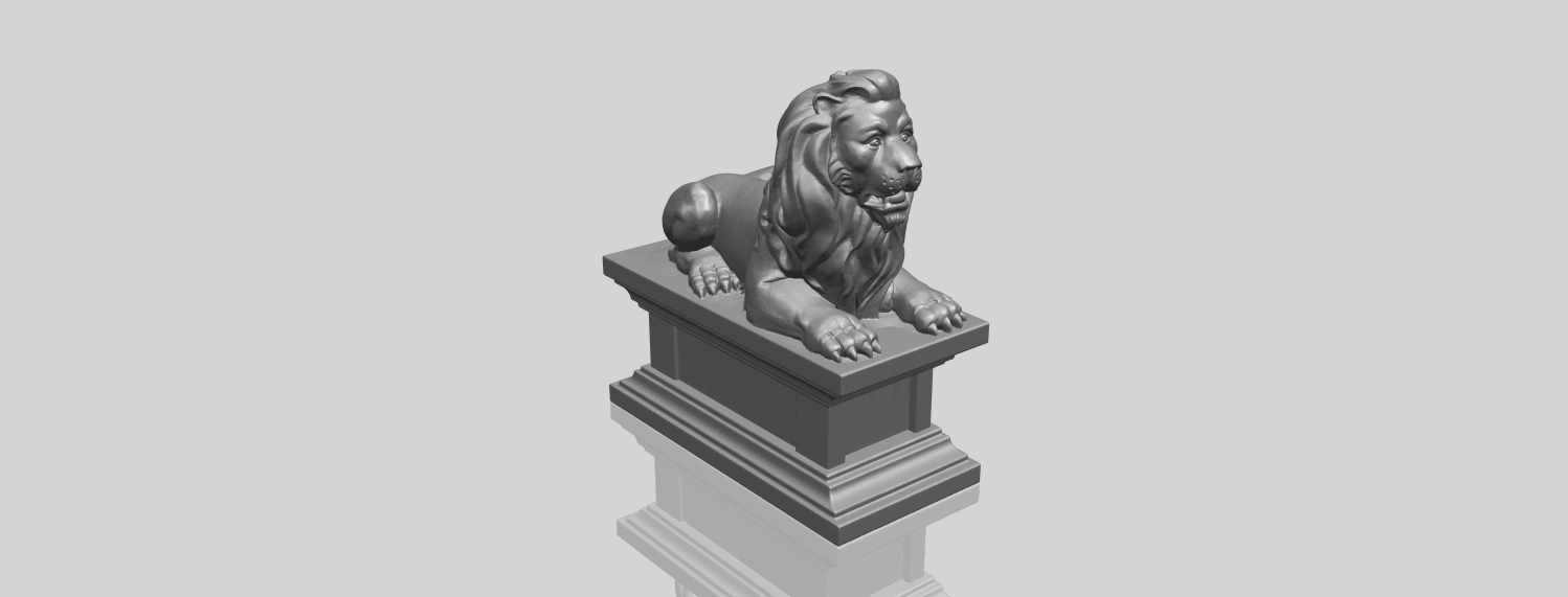 01_TDA0499_Lion_04A00-1.png Download free STL file Lion 04 • Template to 3D print, GeorgesNikkei